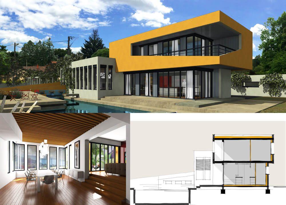 D3 maison terrasse totale